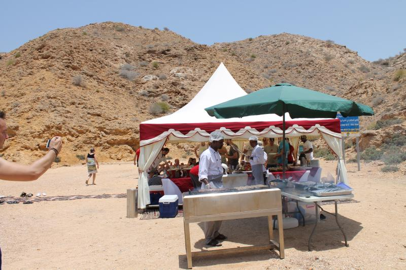 outdoor party in Muscat Oman
